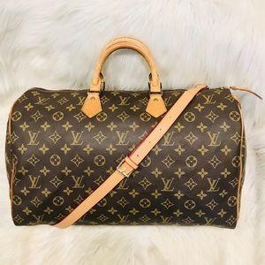 Authentic Louis Vuitton Speedy 40  #4.2z